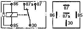 Les Relais ; qu'est que c'est ? et leurs schémas pour mieux comprendre votre Hummer Relais-diode
