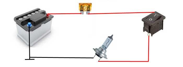 montage electrique sans relais