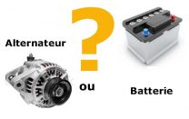 batterie ou alternateur